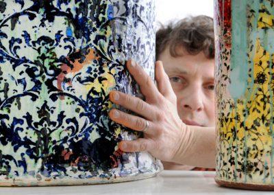 Ceramic artist Christopher Taylor