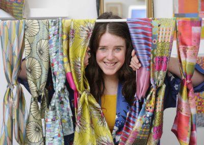 Textiles artist Morag Macpherson