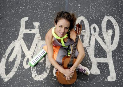Musician / actor Joanna Wallfisch at the Edinburgh Festival Fringe