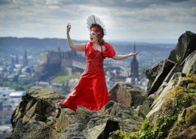 """Rouge"" adult revue show at the Edinburgh Festival Fringe"